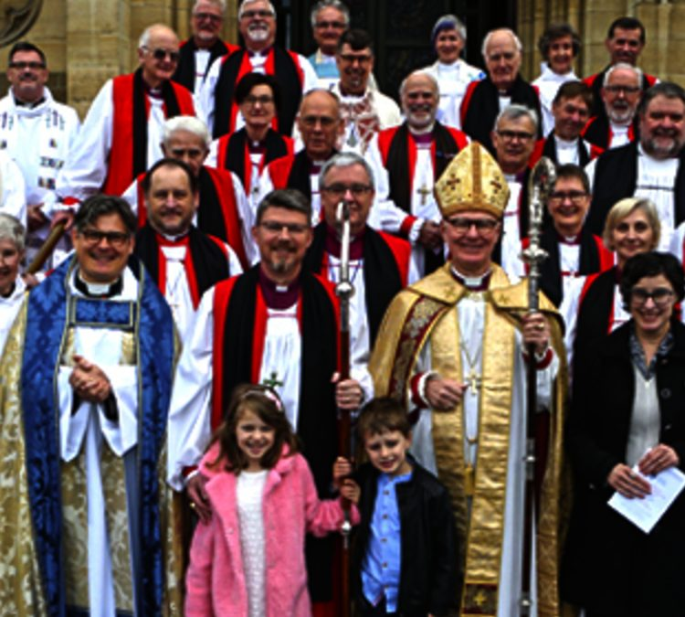 CONSECRATION OF 13TH BISHOP OF GIPPSLAND