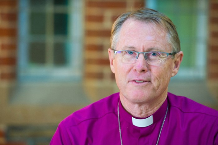 Archbishop Geoffrey Smith elected Primate of the Anglican Church of Australia